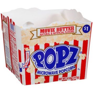 Generic Popz Movie Butter Microwave Popcorn, 4.12 oz