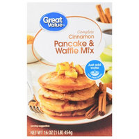 Great Value Cinnamon Pancake & Waffle Mix
