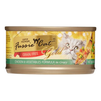 Mojetto Fussie Cat Premium Chicken and Vegetables in Gravy Canned Food