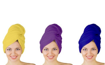 La Casa New Microfiber 123 Hair Drying Turban