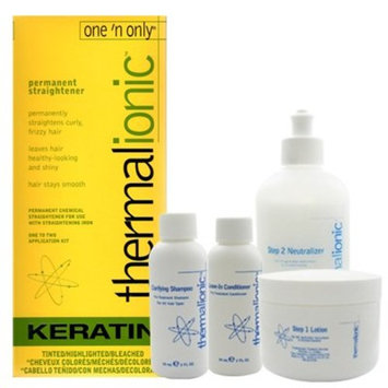One 'n Only Thermalionic permanent straightener for Tinted/Highlighted/Bleached Hair