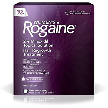 Rogaine Women's 3 Month Supply, Unscented 6 oz 3 ea (7 Pack)