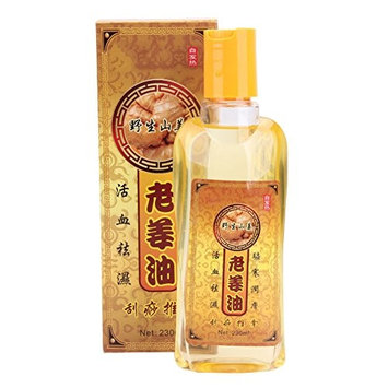 230ml Pure Ginger Oil Natural Herbal Massage Essential Oil