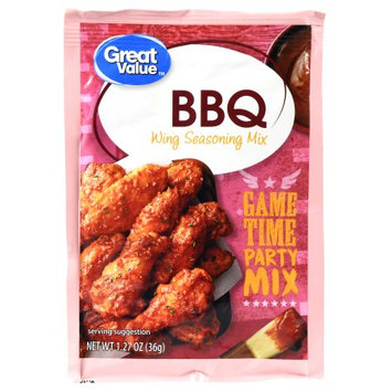 Great Value BBQ Wing Seasoning Mix