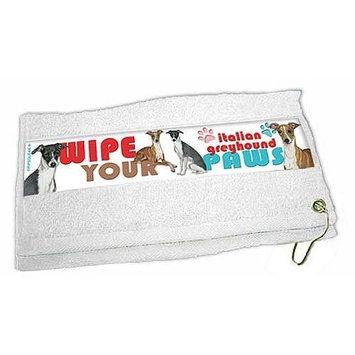 Italian Greyhound Paw Wipe Towel