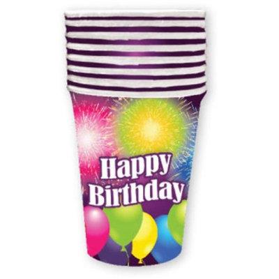 DDI 1998113 Birthday Blast 9 oz Cup - 8 Count Case of 24