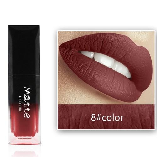 Long Lasting Cosmetics Lipstick Hosamtel Sexy Waterproof Durable Matte Liquid Lip Gloss Moisturizing Fashionable Colors Lip Stains (30 Colors for Choose)