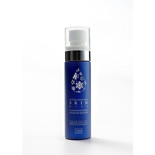 Korean Natural Herbal After Sun Soothing Advanced Cooling and Moisturizing Skin Mist, Spray To Cool Down Your Skin from Outside and Inside 80 ml/2.70 oz.
