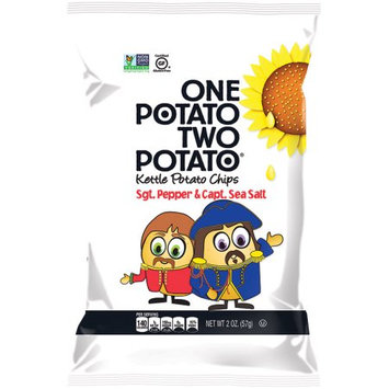 One Potato Two Potato Kettle Chips, Cracked Pepper, 5 Oz