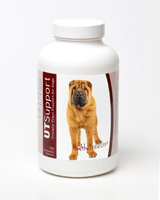Healthy Breeds 840235144687 Chinese Shar Pei Cranberry Chewables - 75 Count