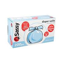 Sassy Disposable Diaper Sacks, Scented - 200 ct - 3 pack