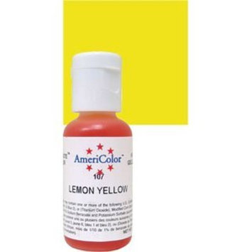Americolor Soft Gel Paste Food Color.75-Ounce, Lemon Yellow