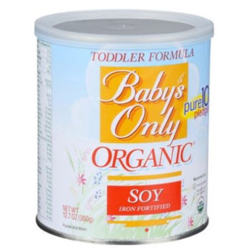 Nature's One Baby's Only Organic Organic Soy-Based Formula, Powder, with Iron, 12.7 Oz