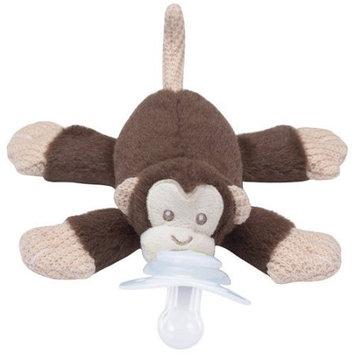 Nookums Paci-Plushies Buddies, Milo Monkey Pacifier Holder