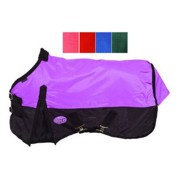 Jt Intl Distributers Inc Tough-1 420D Waterproof Sheet Blue/Navy, Size: 66