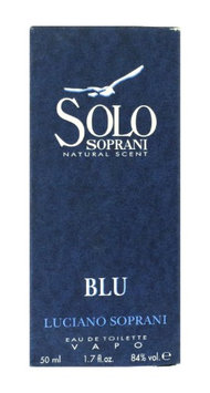 Luciano Soprani Solo Blu Eau De Toilette Spray 1.7Oz/50ml In Box