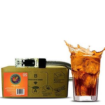Orange Dream Craft Orange Soda (3 Gal Bag-in-Box Syrup Concentrate) - Box Pours 18 Gallons of Orange Soda - Use with Bar Gun, Soda Fountain or SodaStream