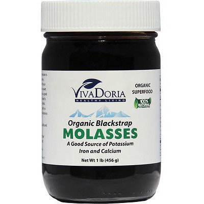 Vivadoria Viva Doria Organic Unsulfured Blackstrap Molasses (1 lb)