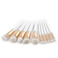 OVERMAL Fashion Eye shadow Makeup Brushes,New 10Pcs Pencil Foundation Eyeliner Makeup Brush