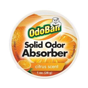 OdoBan Scent Solid Absorber Eliminator, Air and Pet Odor Freshner Purifier, 12 Pack, Citrus