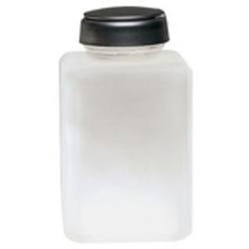 Menda 35362 ONE-TOUCH- SS- SQUARE- GLASS CLEAR FROSTED- 6 OZ Dispensing Bottle