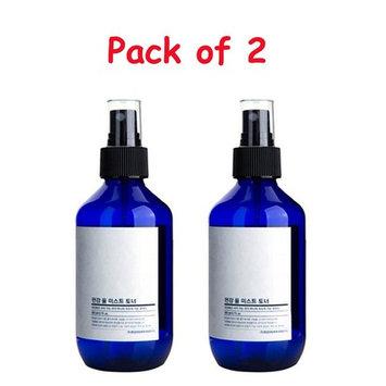 [Pack of Two] Pyunkang Yul Mist Toner 3.3 ounces with Eyebrow Razor: Beauty