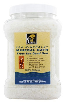 Sea Minerals - Mineral Bath From The Dead Sea - 48 oz.(pack of 2)