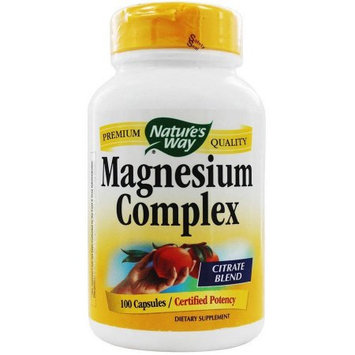 Natures Way Magnesium, 100 CP