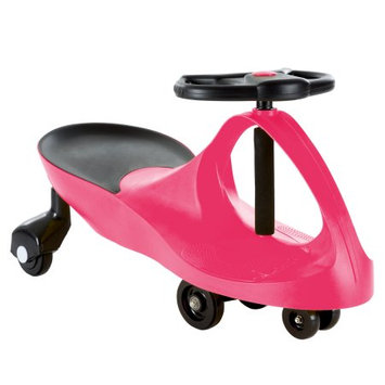 Trademark Global Games Ride On Car, No Batteries, Gears or Pedals, Uses Twist, Turn, Wiggle Movement to Steer Zigzag Car (Multiple Colors) for Toddlers, Kids, 2 Years Old and Up
