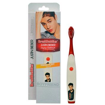 Atb Justin Bieber Singing Toothbrush Brush Buddies Boyfriend SMILE Music Kids New!