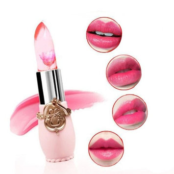 Paymenow Flower Magic Color Discoloration Jelly Lip Stick Professional Make-up Waterproof Long Lasting Moisturize Lipstick Lip Gloss