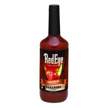 Red Eye Habanero Texas Style Bloody Mary Mix 32 Oz