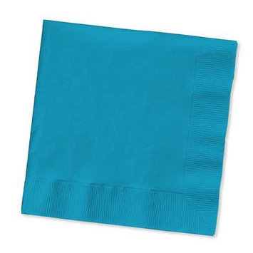 Turquoise Luncheon Napkin, 2 Ply, Solid (12pks Case)