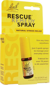 Bach 0724971 Flower Remedies Rescue Remedy Spray - 0.245 fl oz