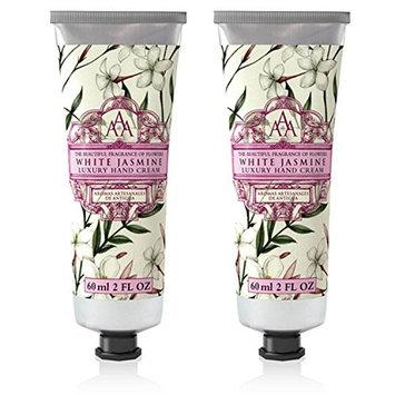 Somerset Toiletry Co. AAA Floral Hand Cream 2-Piece Set - White Jasmine