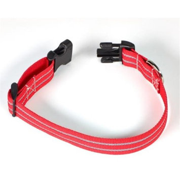 Starline Global Petflect Red Poly Reflective Two-stripe Collar