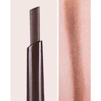 2018 3D stereoscopic Double automatic rotation eyebrow pencil dual-use waterproof and sweat with a brush