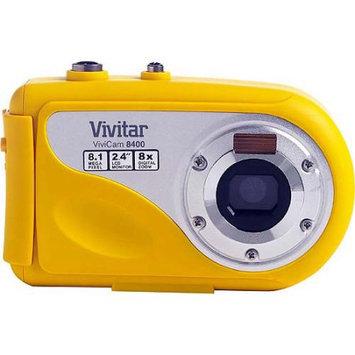 Vivitar ViviCam 8400 8 Megapixel Compact Camera - Yellow - 2.4 LCD - 3264 x 2448 Image - 640 x 480 Video
