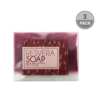 BeautyFrizz Resveratrol Wine Soap Bar | Natural Soap, Moisturizing Body Soap, Hydrating Soap & Gentle Soap for Cleansing & Anti Aging| Bath Soap with Honey, Olive Oil, Shea Butter