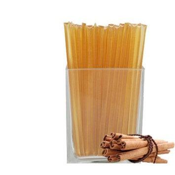 Natural Cinnamon Stick Honeystix - Naturally Flavored Honey - Pack of 50 Stix - 250g [Natural Cinnamon]