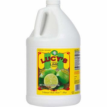 Lucy's 100% Lime Juice, 1 Gallon (128oz.)