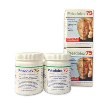 Weber & Weber International Petadolex 75 mg patented PA-free butterbur root extract- 2 Bottles