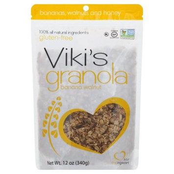 Viki's Granola Banana Walnut Granola-12 oz Bag