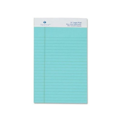 Sparco SPR01073 Colored Junior Legal Ruled Writing Pads Pack of 12