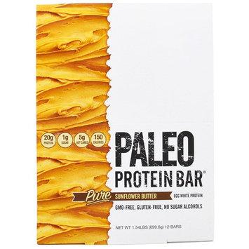 Julian Bakery, Paleo Protein Bar, Pure Sunflower Butter , 12 Bars, 2.05 oz (58.3 g) Each [Flavor : Pure Sunflower Butter]