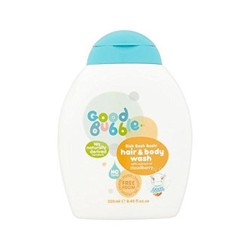 Good Bubble Hair & Body Wash with Cloudberry Extract 250ml - Pack of 6