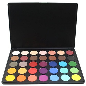 Laimeng_world 35 Colors Eye Shadow Palette Eye Shadow Powder Make Up Palettes Waterproof Palette