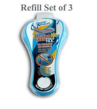 Personal Pedicure Refills - 3 Pack