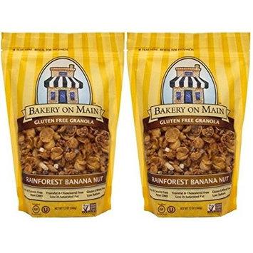 Bakery On Main Gluten Free Granola Rainforest Banana Nut Breakfast Cereal Multipack Of 2 - 12 oz Bags