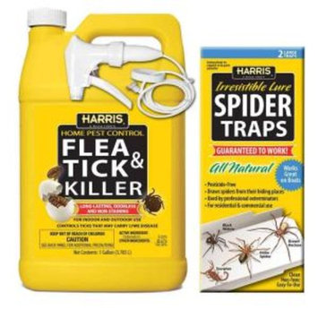 Harris Flea and Tick Killer and Spider Trap Value Pack